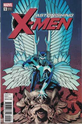 Astonishing X-Men #5 1:10 Greg Land Variant Marvel 2017