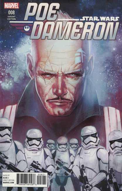 Star Wars Poe Dameron #8 1:25 Reis Variant Marvel 2016