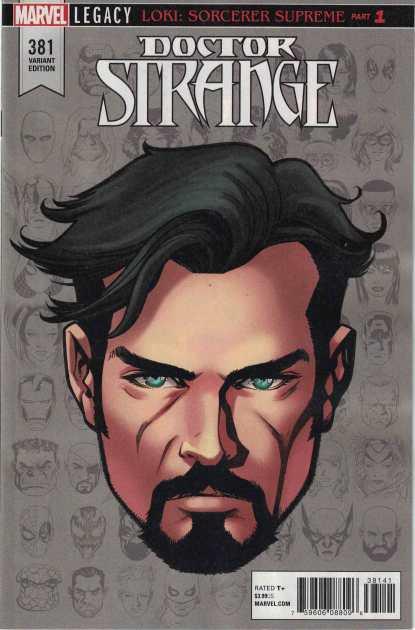 Doctor Strange #381 1:10 Mike McKone Headshot Variant Marvel Legacy