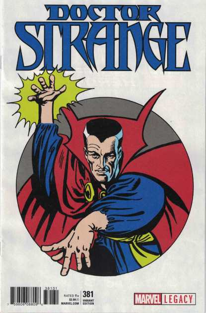 Doctor Strange #381 1:50 Steve Ditko 1965 T-Shirt Variant Marvel Legacy
