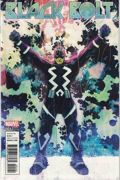 Black Bolt #1 1:25 Paul Pope Variant Marvel Inhumans 2017