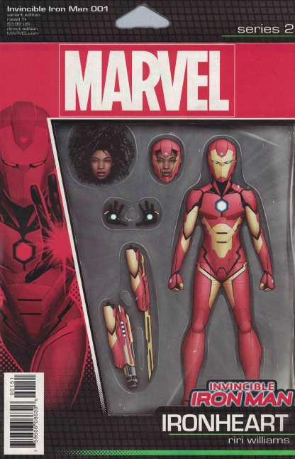 Invincible Iron Man #1 Action Figure Variant NOW Marvel 2016 Riri Williams