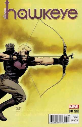All-New Hawkeye #1 1:25 Tim Sale Variant Marvel 2015 ANAD