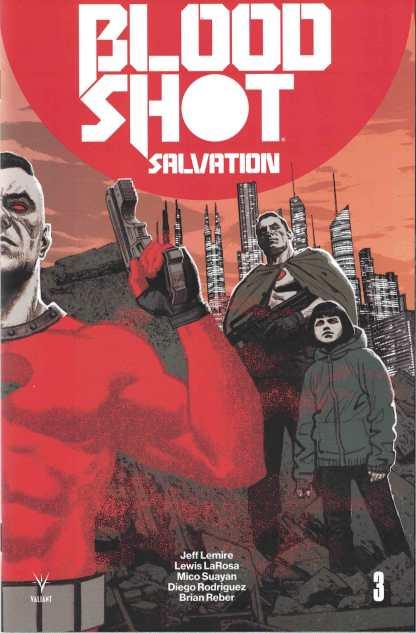 Bloodshot Salvation #3 1:20 Greg Smallwood Interlock Valiant Variant 2017