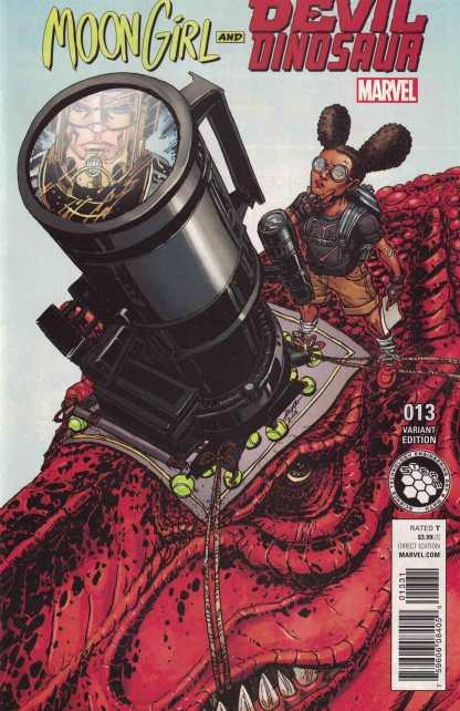Moon Girl and Devil Dinosaur #13 1:10 STEAM Variant ANAD Marvel 2015