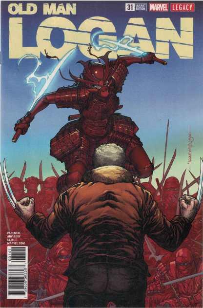 Old Man Logan #31 1:25 Harvey Tolibao Variant Marvel Legacy 2015