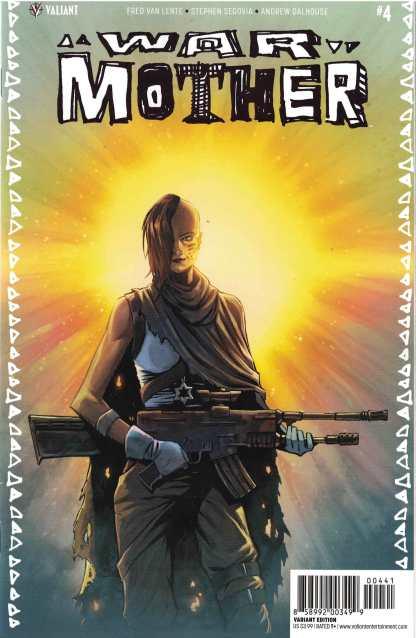 War Mother #4 1:20 Brent Peeples Valiant Variant 2017
