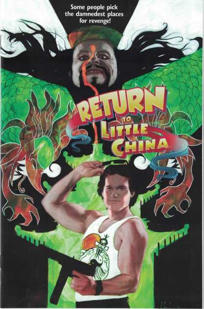 Big Trouble in Little China Old Man Jack #2 Movie Poster Variant Boom 2017