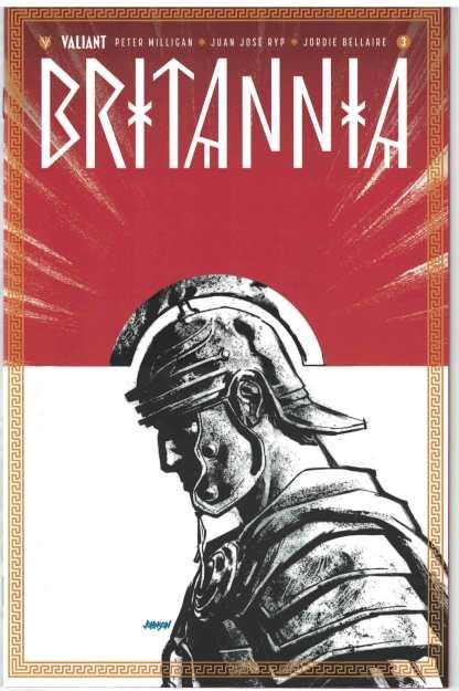 Britannia #3 1:50 Dave Johnson Variant Valiant 2016 RARE HTF