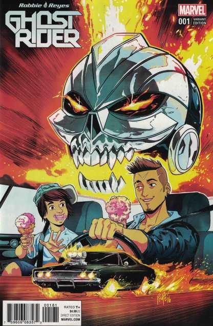 Ghost Rider #1 Filipe Smith Variant NOW Marvel 2016 Robbie Reyes