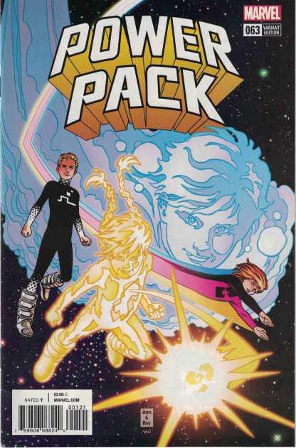 Power Pack #63 1:25 June Brigman Variant Marvel Legacy 2005