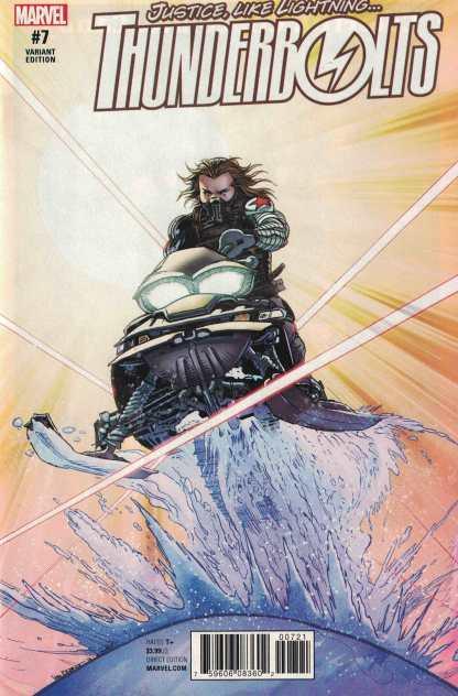 Thunderbolts #7 1:15 Von Eeden Classic Variant Marvel ANAD 2016