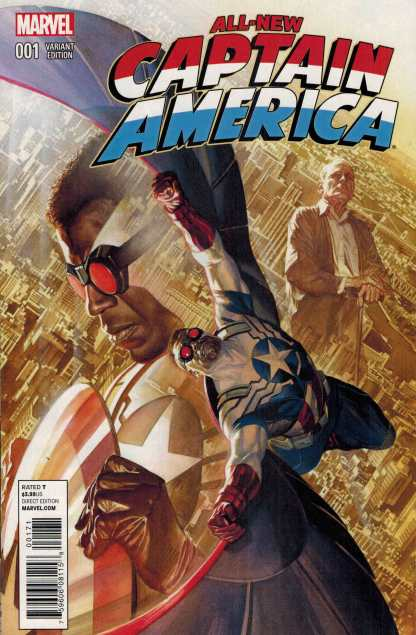 All New Captain America #1 1:25 Alex Ross Color Variant