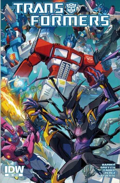 Transformers #36 1:10 Retailer Incentive Variant