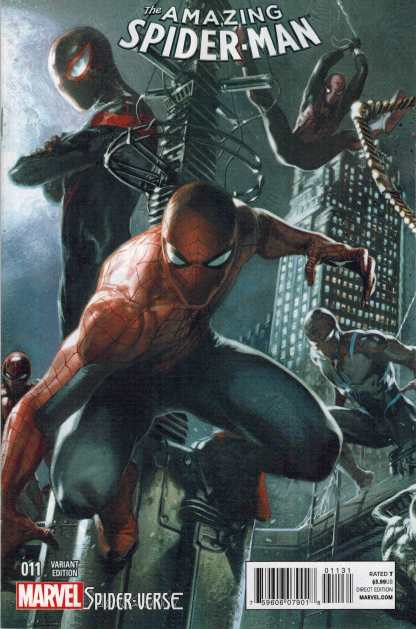 Amazing Spider-Man #11 1:25 Dell'Otto Variant Marvel ANMN 2014