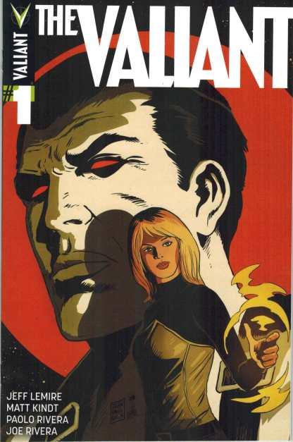 The Valiant #1 1:50 Francavilla Variant 2014