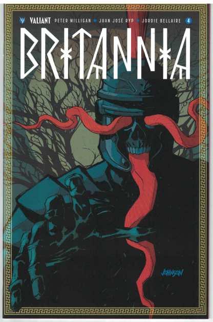 Britannia #4 1:50 Dave Johnson Variant Valiant 2016 HTF RARE!