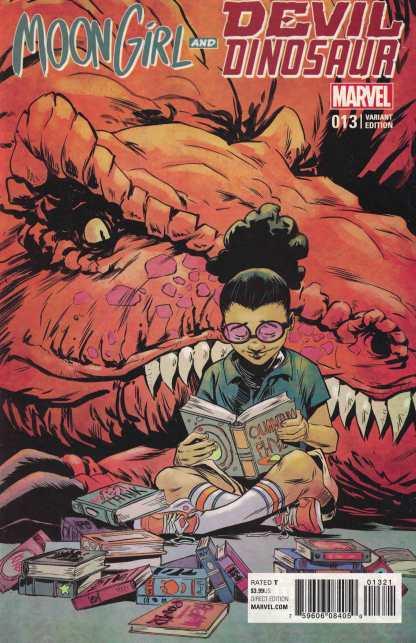 Moon Girl and Devil Dinosaur #13 1:25 Sanford Greene Variant ANAD Marvel 2015
