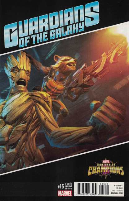 Guardians of the Galaxy #15 1:10 Games Contest of Champions Variant ANAD 2015