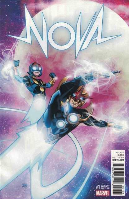 Nova #1 1:25 Pasqual Ferry Variant NOW Marvel 2016