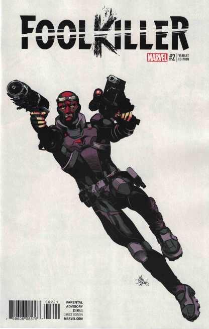 Foolkiller #2 1:10 Mike Deodato Jr Teaser Variant NOW Marvel 2016 Max Bemis