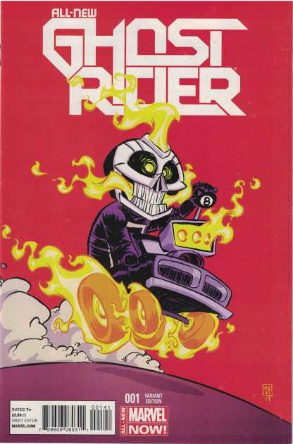 All-New Ghost Rider #1 Skottie Young Variant First Appearance Robbie Reyes 2014