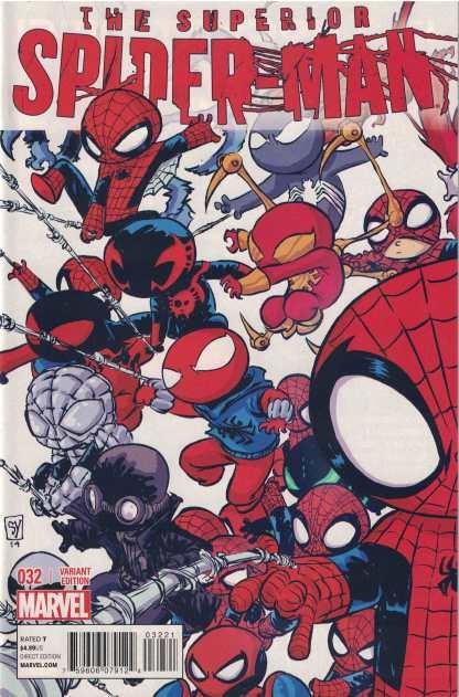 Superior Spider-Man #32 Unlocked Skottie Young Variant Marvel