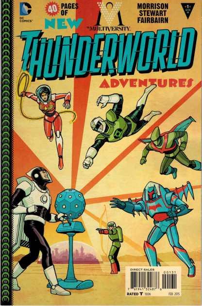 Multiversity Thunderworld #1 1:25 Cliff Chiang Variant DC