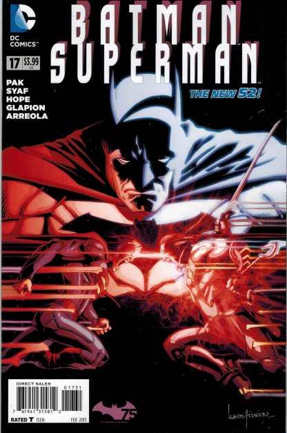 Batman Superman #17 1:25 Fernandez Variant New 52