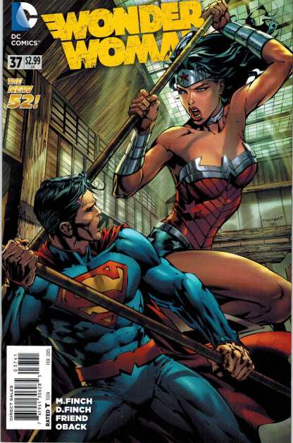 Wonder Woman #37 New 52 1:100 David Finch Color Variant