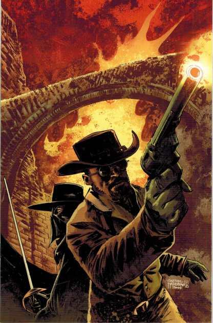 Django Zorro #2 Gabriel Hardman Color Virgin Art Variant