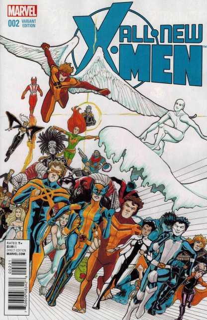 All New X-Men #2 1:25 Janet Lee Variant Marvel ANAD 2015