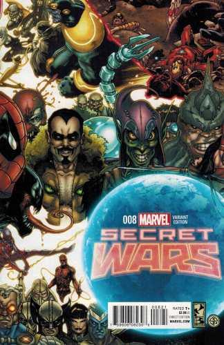 Secret Wars #8 1:25 Simone Bianchi Connecting Variant Marvel 2015