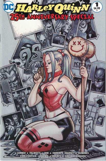 Harley Quinn 25th Anniversary #1 Chad Hardin Nerd Store Variant DC