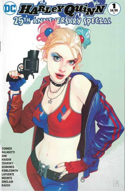 Harley Quinn 25th Anniversary Special #1 Jetpack Comics Middleton Variant 2017