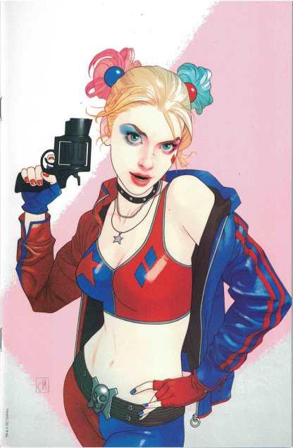 Harley Quinn 25th Anniversary #1 Forbidden Planet Josh Middleton Vrgn Variant