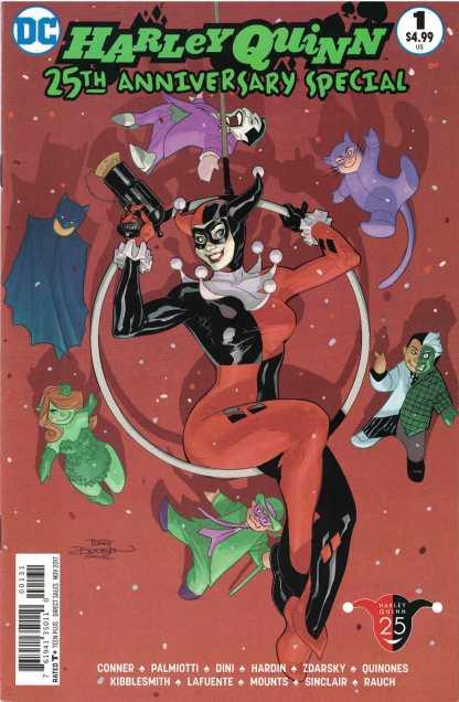 Harley Quinn 25th Anniversary #1 Terry Dodson One-Shot Variant DC 2017
