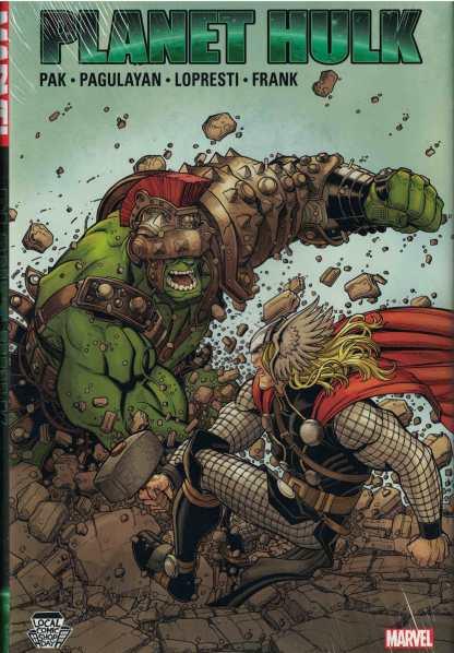 Planet Hulk Local Comic Shop Day Variant Hardcover Marvel HC LCSD 2017