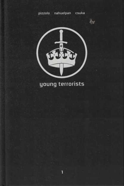 LCSD 2017 Young Terrorists Hard Cover Black Mask