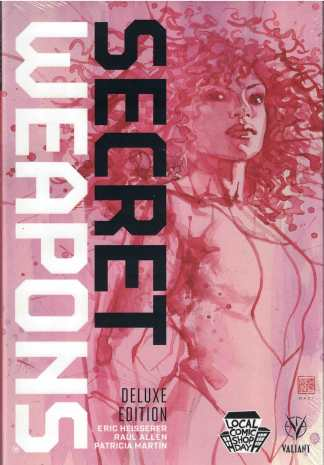 Secret Weapons Deluxe Edition Variant Hardcover HC Vol 1 Valiant LCSD 2017