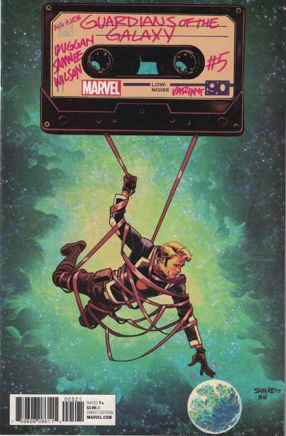 All-New Guardians of the Galaxy #5 1:25 Chris Samnee Variant Marvel 2017