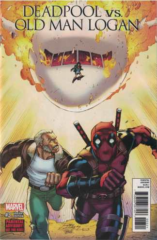 Deadpool Vs Old Man Logan #3 Ron Lim Variant Marvel 2017