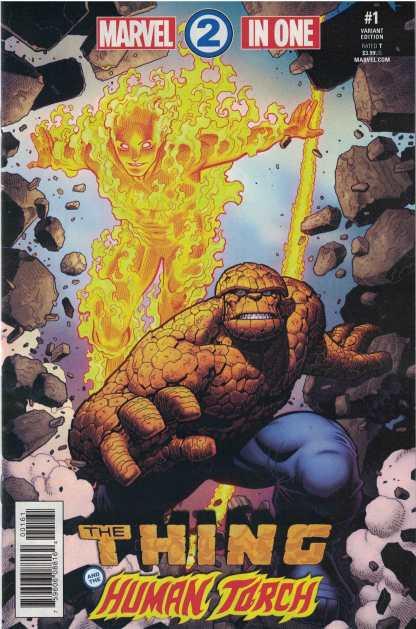 Marvel Two-In-One #1 1:25 Arthur Adams Variant Marvel Legacy 2017