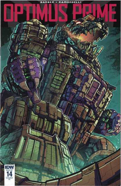 Optimus Prime #14 1:10 James Raiz Retailer Incentive Variant IDW