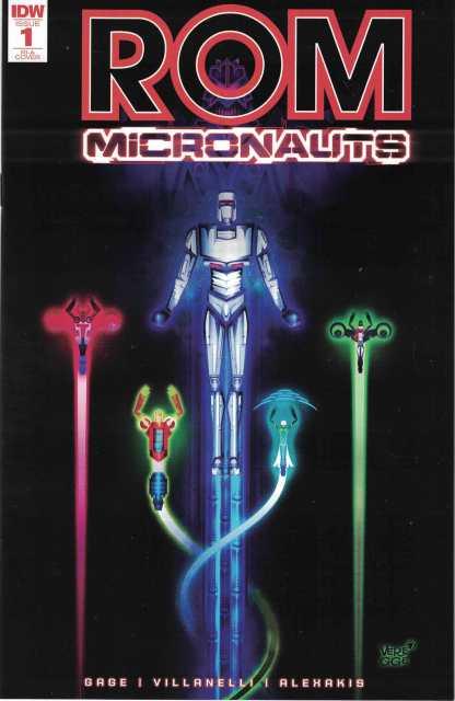 Rom & the Micronauts #1 1:10 Jeffrey Veregge RI Variant IDW 2017