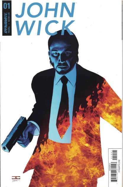John Wick #1 John Cassaday Exclusive Subscription Variant Dynamite 2017