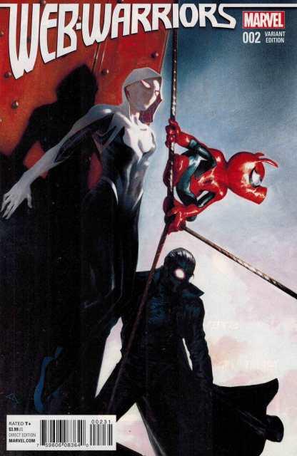 Web Warriors #2 1:25 Gabrielle Dell'Otoo Variant Marvel ANAD 2015