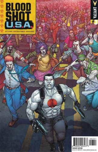 Bloodshot USA #3 1:20 Juan Jose Ryp Variant Cover E Valiant 2016