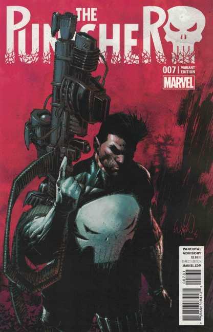 Punisher #7 1:15 Portacio Classic Variant NOW Marvel 2016 Cloonan