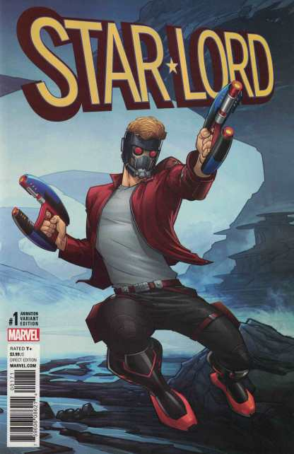Star-Lord #1 1:10 Animation Variant NOW Marvel 2016